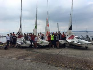 Sailors pay tribute to the late Terry Kohler