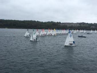 40 boats on the water at Danmark