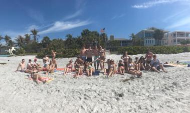 Spring Break Beach Day